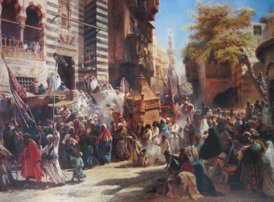 The Arrival of the Holy Carpet in Cairo
